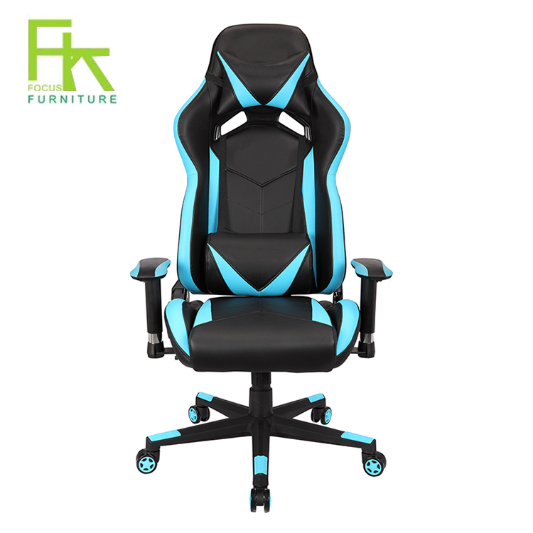 Pleasant Wholesale Blue Leather Computer Gaming Racing Executive Office Chair Buy Ergonomic Gaming Chair Racing Gaming Chair Gaming Office Chair Product On Dailytribune Chair Design For Home Dailytribuneorg