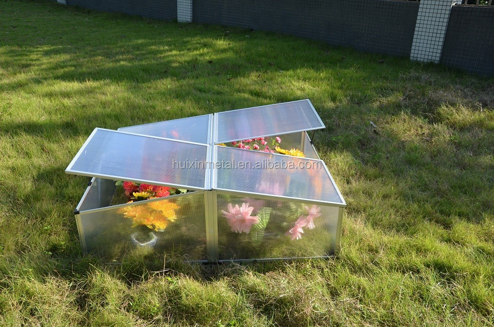 Wonderful Aluminium /polycarbonate Cold Frame Green House Kits ...