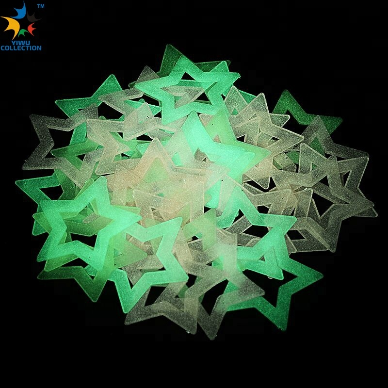 Glow Dark Ceiling Night-lighting Fluorescent Sticker