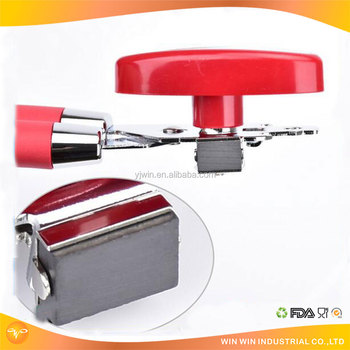 hot sale red color safety paint can opener/ heavy duty can opener