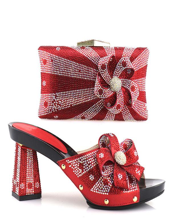 33f72cceed5e 2018 pattini del partito set donne borsa di corrispondenza belle scarpe  tacchi alti nuove scarpe e