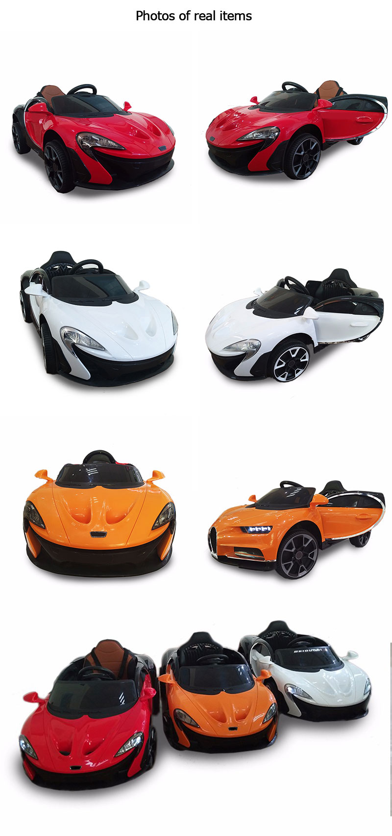 Popular Licensed Four Wheels Drive Kids Children Toys Car Electric Ride Cars