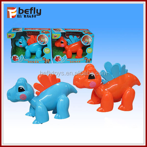 New Baby Plastic cartoon dinosaur b o animal shantou toys