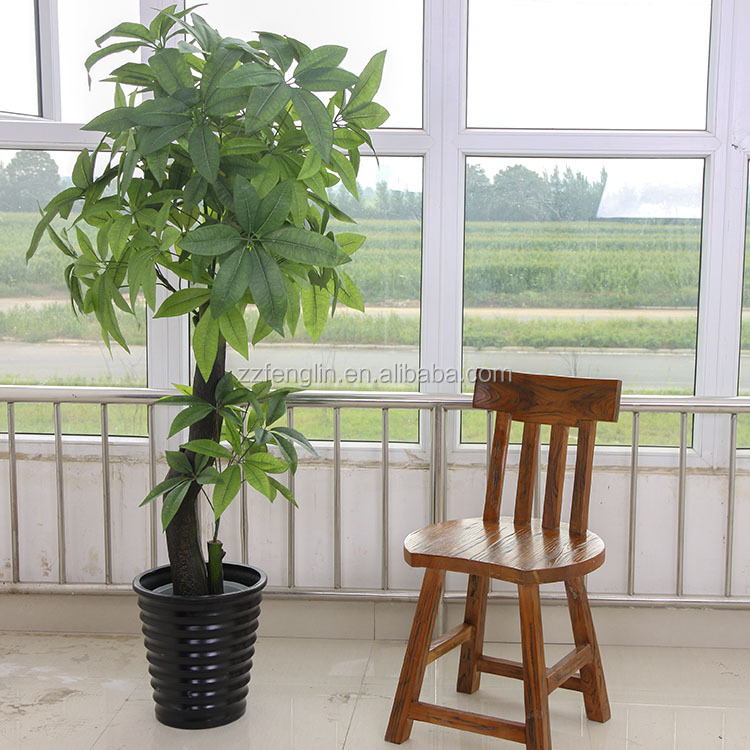 pas cher gros artificielle usine de pachira arbre pour int rieur ext rieur d coratif arbres. Black Bedroom Furniture Sets. Home Design Ideas