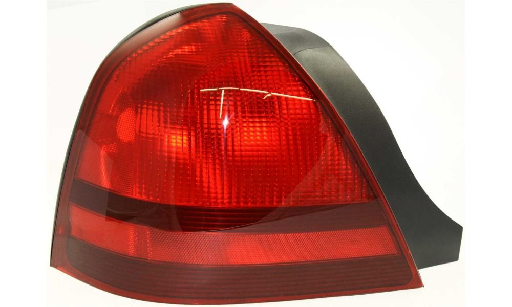 Evan-Fischer EVA15672029828 Tail Light for Mercury Grand Marquis 03-11 LH Lens and Housing Left Side Replaces Partslink# FO2800173