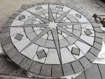 Attractive Granite Patio Circle Kit