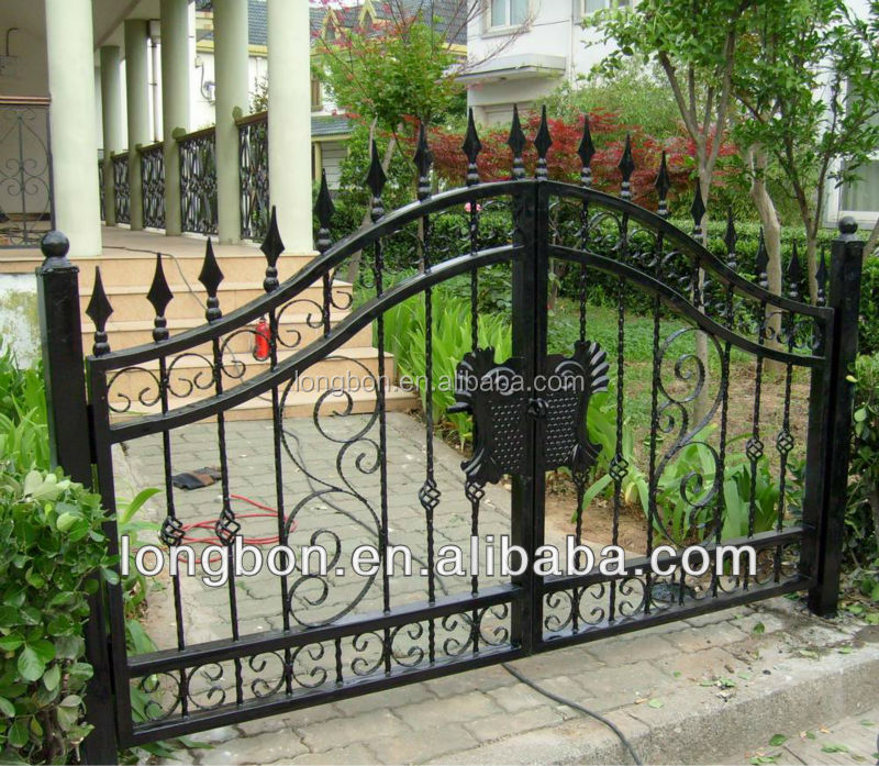 2014 Top-selling outdoor patio iron gate