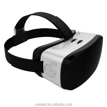 New Products 2016 VR All in One with3D Virtual Reality Glasses 1080*1920 Display