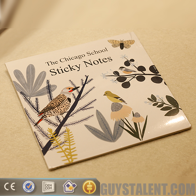 Customized high quality dot grid sticky notes paper Factory Sale Direct