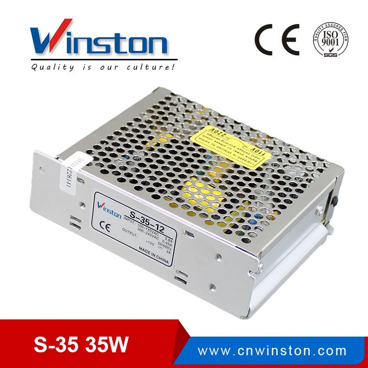 International standards package 35w 15v smps power supply led driver power