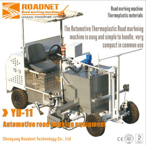 thermoplastic traffic line marking machine for road line marking