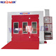wld8400(ce certificate) red water based auto cheap paint booth heaters