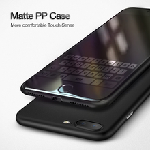 Cafele Luxury Translucent Ultra-thin 0.4mm Micro Matte Anti Fingerprint PP Case Mobile Phone Back Cover Skin For iPhone 7/7 Plus