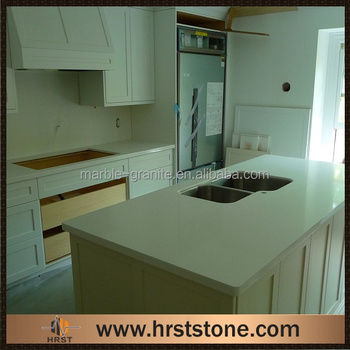 Laminate Frost White Quartz Countertops Discount
