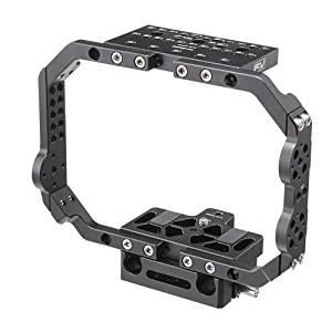 "F & V Basic BMC Cage for 2K or 4K Black Magic Cinema Camera, 1/4-20"" & 3/8""-16 Mounting Points"