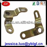 high quality customized yellow zinc plated punching steel parts,steel punching part,oem stamped parts