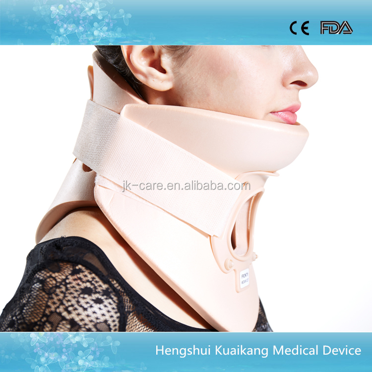 hospital equipment orthopedic neck brace adjustable philadelphia cervical collar with open trachea