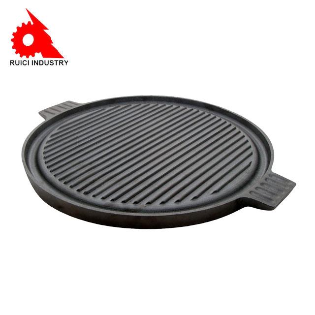 Buona elettrico rotante coreano tavolo bbq grill con piatto caldo