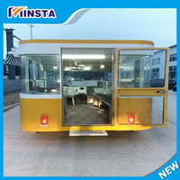 2017 Chinese mobile outdoor street kitchen/office/fast food/moving dining cart
