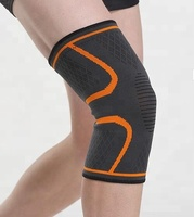 2019 best selling comfortable adjustable factory price Compression Knee Sleeves High Elastic Bandage knee supporter