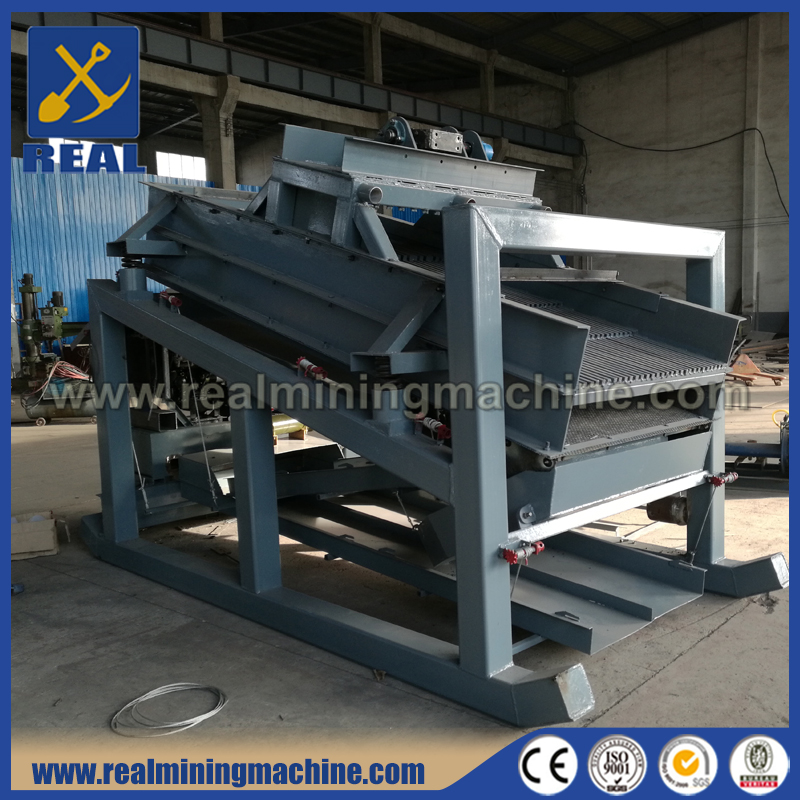 Sand Washing Vibrating Screen / Gold Iron Ore Dewatering Machine