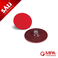 Hot selling of 11mm thickness Magic Tape Disc Backing Pad