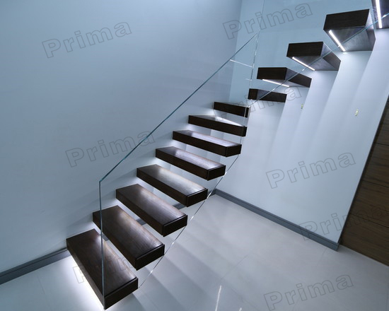 automatic led stair lighting. hot sale glass railing automatic led stair lighting