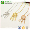 Fashion Stainless Steel jewelry unique leaf pendant necklace DREAM CATCHER wholesale D3-0227