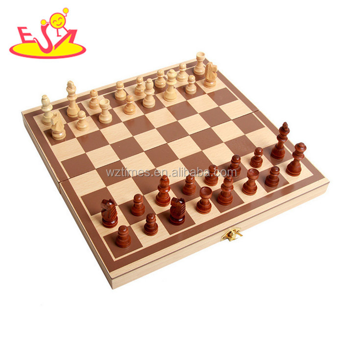 Wholesale high quality wood international chess game for sale W11A061
