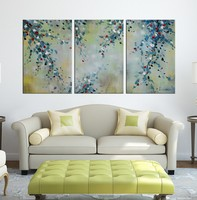 Home Group Canvas Acrylic Oil Painting Abstract Decor