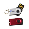 8GB Swivel USB Flash Drive Mixture Colors , USB Memory Flash Pendrive , Personalized USB Flash Drives