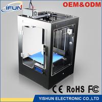 High precision 3d multi color printing machine digital pla printer for school use