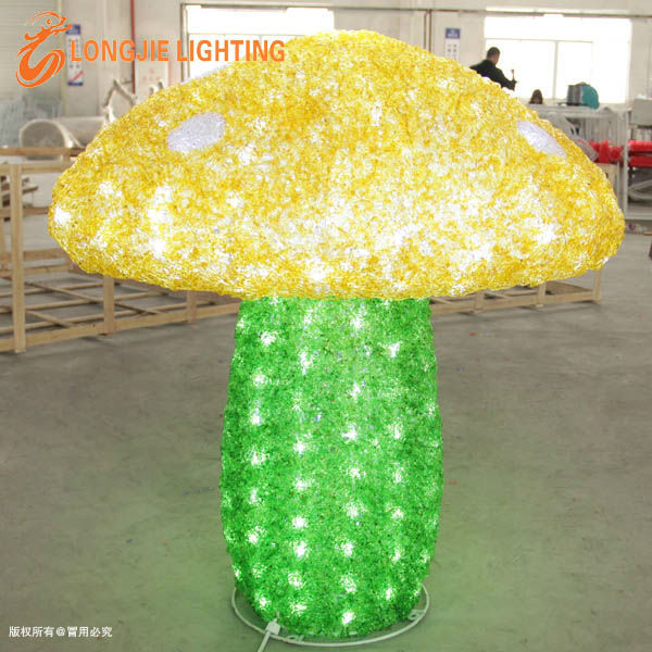 D:80cm flashing mushroom light/artificial lighted mushroom
