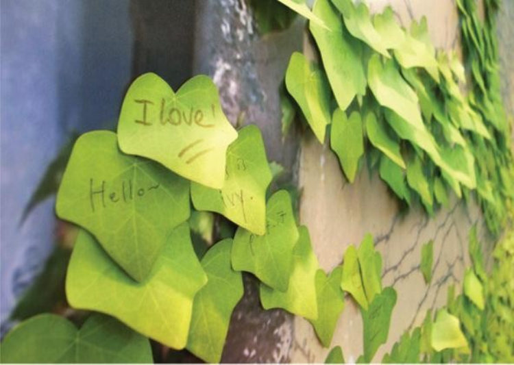Leaf It Sticky Notes / Simulation Leaves Note Memo Pad