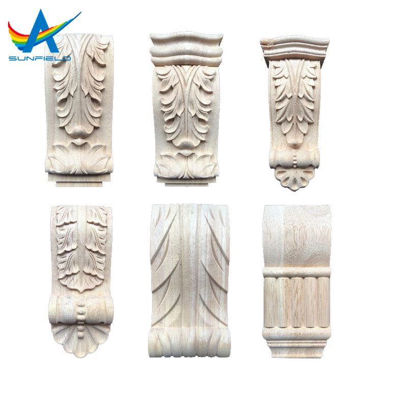 Dongyang solid wood carving corbel for home decorative furniture