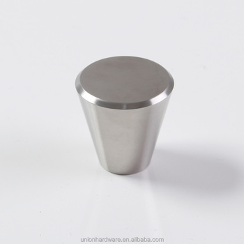 Wholesale Cone Shape Stainless Steel Cabinet Knob,cabinet Door Knob, Stainless Steel Knob