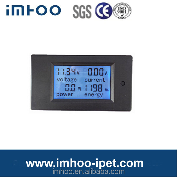 Digital DC current meter power meter energy meter voltmeter