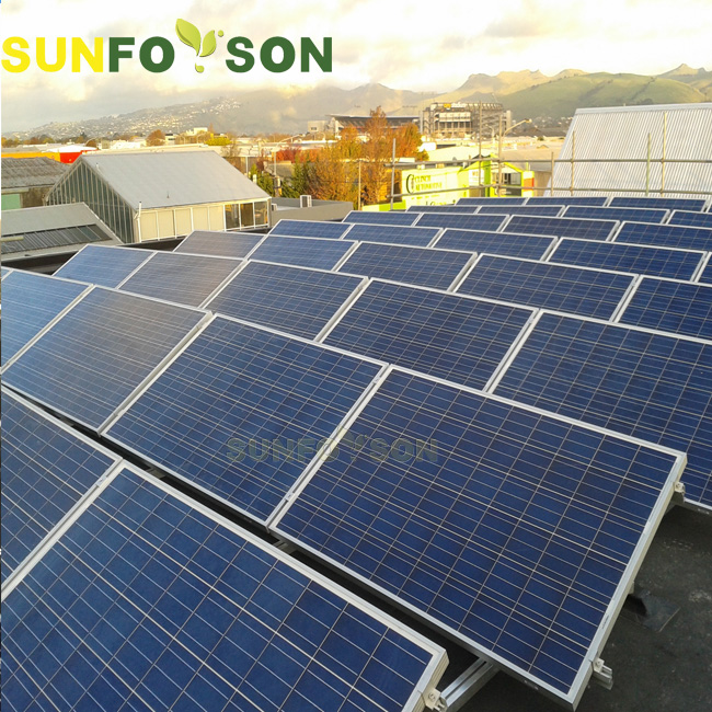 Photovoltaic system solar panel rack and solar roof Mounting bracket