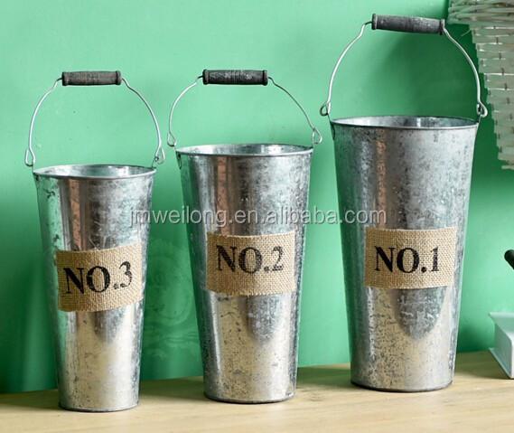 Alibaba & Newest Design Tin Flower Pot Tin Pots Galvanized Plant Pot Tin Planters Wholesale For Garden Decoration And Home Decor - Buy Flower Pots For ...