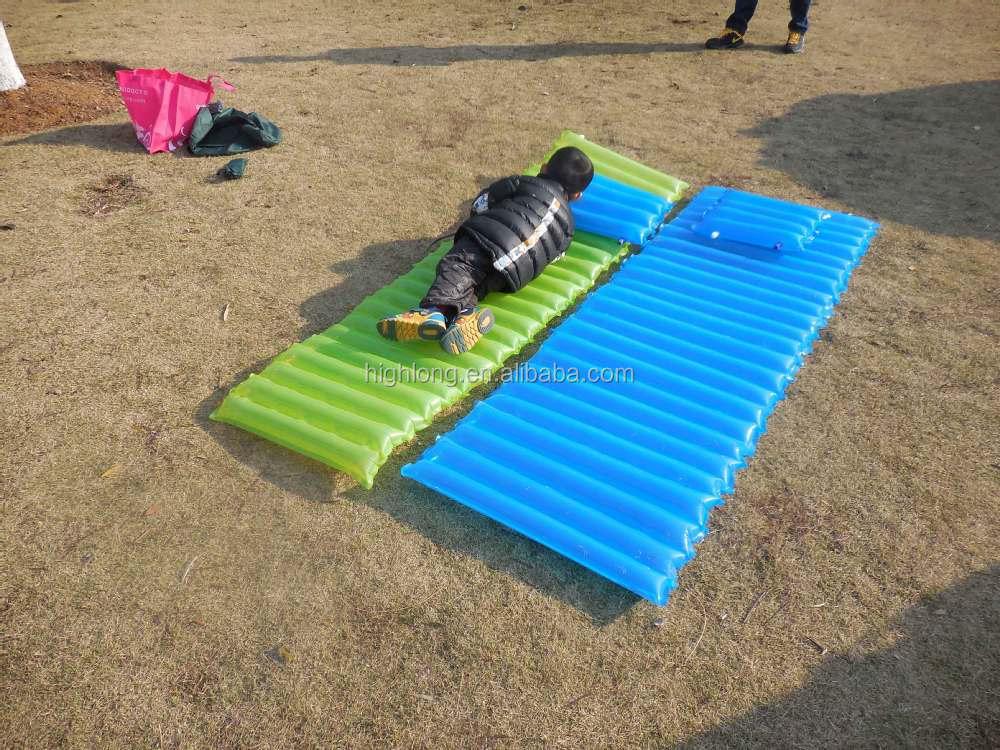 Splicing Camping Sleeping Inflating Pad Air Mattress