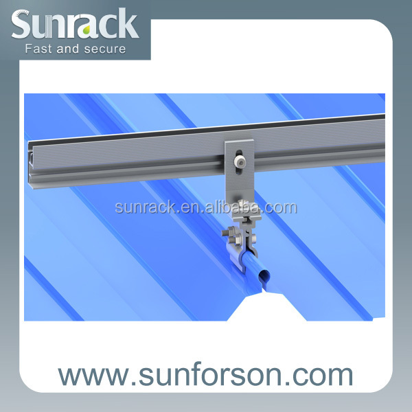 Kliplok Metal Roof Mounting Solutions for Solar Panel