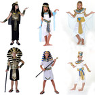 PoeticExst Ancient Egypt Egyptian Pharaoh Prince Princess Cosplay Costume Halloween Costume for Children Kids