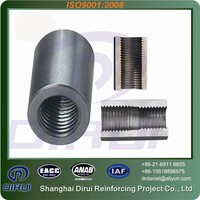 Eco friendly product construction rod coupler rebar coupler price for reinforced concrete
