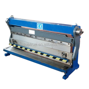 Chinese manufacturer small shear press brake/sheet metals manual bending machine and slip roll machine