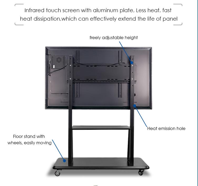 32 inch trẻ em giáo dục sử dụng bản vẽ và viết cảm ứng bảng màn hình