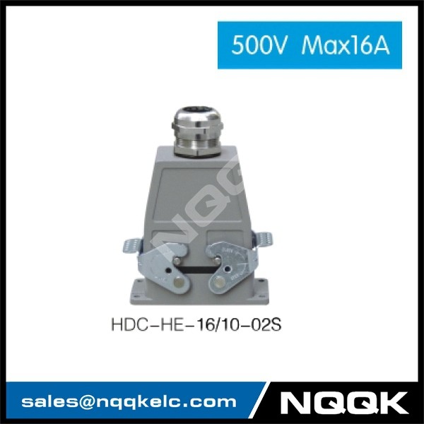 1 HDC HE 02S 500V Max16A  Industrial rectangular plug socket heavy duty connector.jpg