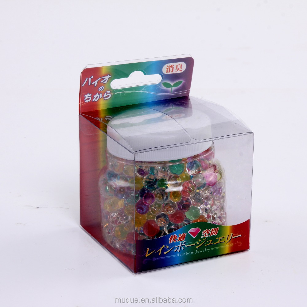 baseball cap 80g colorful crystal air freshener 3mm beads with cheap price