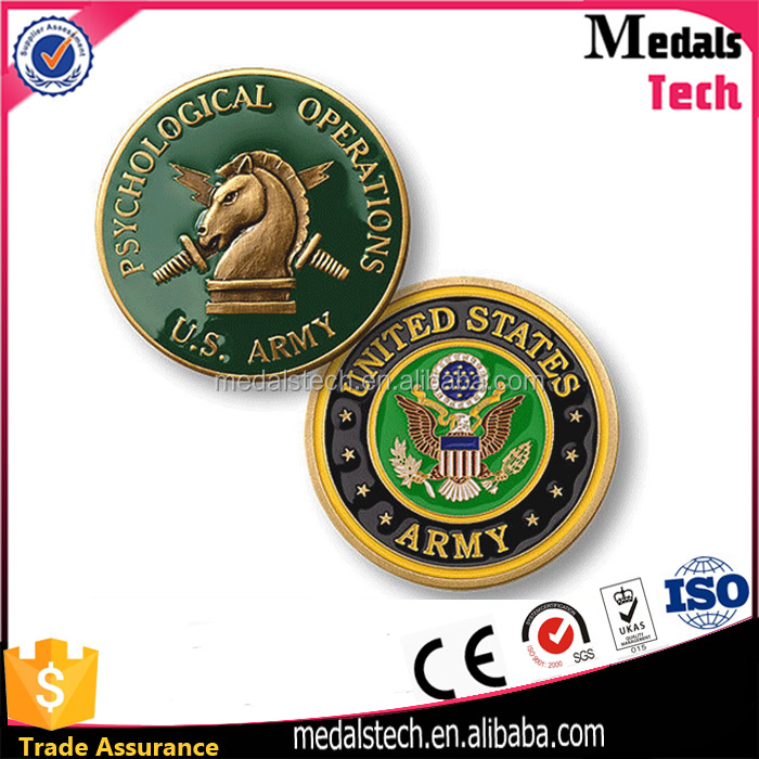 Factory price custom design metal donald trump campaign challenge coin