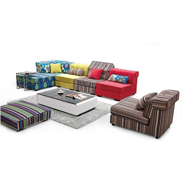 indienne divan chaud vente color canap pour le salon 2015 mode canap tissu meubles - Canape Colore