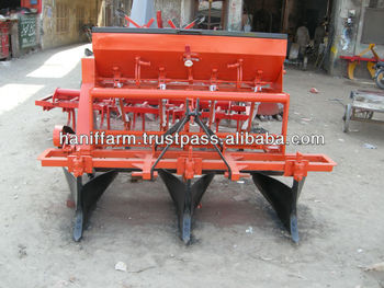 Multi Crop Bed Planter With Fertilizer Attachment Buy Patented